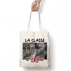 Tote Bag Chirac : La classe à Dallas