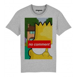 T-Shirt Bart no comment
