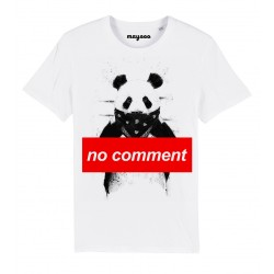 T-Shirt Panda no comment