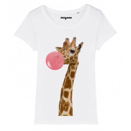 T-Shirt Girafe chewing gum