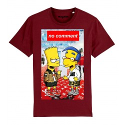 T-Shirt Bart et Milhouse no comment