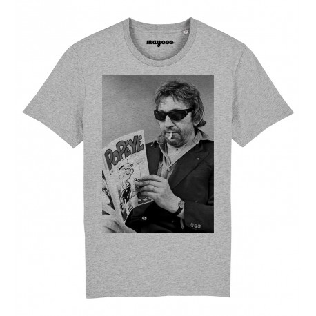 T-Shirt Gainsbourg and Popeye book