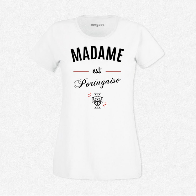 T Blanc Foot MayoooShirts Gens Cool Est Accesoires Et Femme Madame Portugaise Pour Shirt wvnO8ym0N