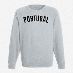 Sweat Gris Foot Portugal