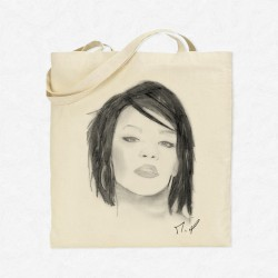Tote Bag Rihanna by Mathieu Larquet