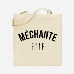 Tote Bag Méchante Fille