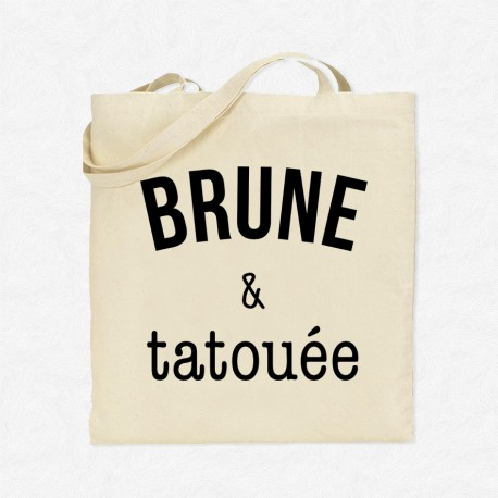 Tote Bag Brune & tatouée