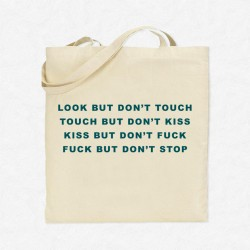 Tote Bag Fuck but don't stop