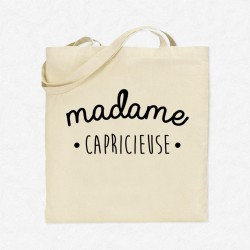 Tote Bag Madame Capricieuse