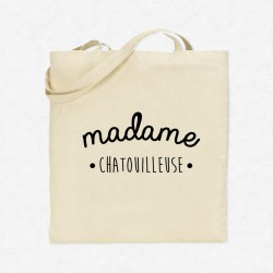 Tote Bag Madame Chatouilleuse