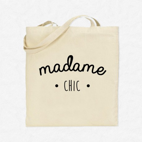 Tote Bag Madame Chic