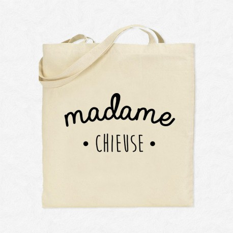 Tote Bag Madame Chieuse