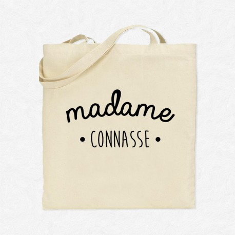 Tote Bag Madame Connasse