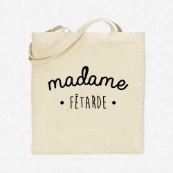 Tote Bag Madame Fêtarde