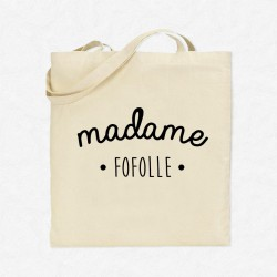 Tote Bag Madame Fofolle