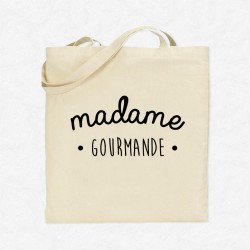 Tote Bag Madame Gourmande