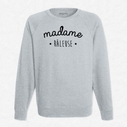 Sweat Gris Madame Râleuse