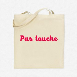 Tote Bag Pas touche