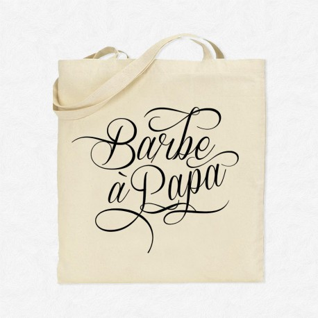 Tote Bag Barbe à papa