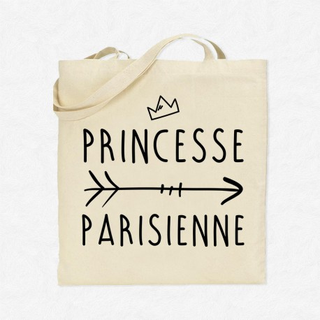Tote Bag Princesse Parisienne
