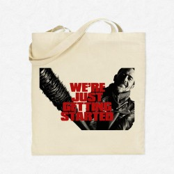 Tote Bag The walking Dead - Negan - We're juste getting started