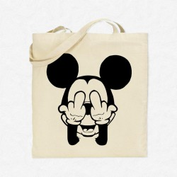 Tote Bag Mickey F**K