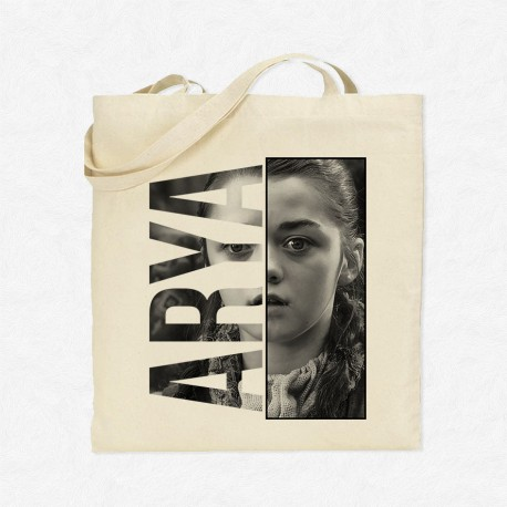 Tote Bag Game Of Thrones - Arya Portrait