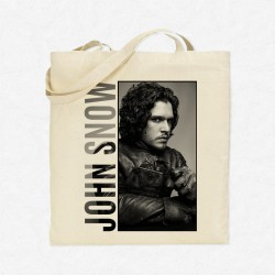 Tote Bag Game Of Thrones - Jon Snow Portrait