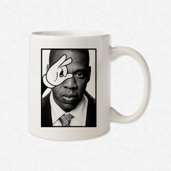 MUG Blanc Magic Hand Jay-Z