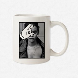 MUG Blanc Magic Hand Rihanna