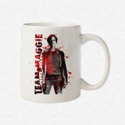 MUG Blanc The Walking Dead - Team Maggie