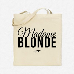 Tote Bag Madame blonde