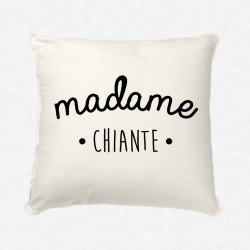 Coussin Madame Chiante