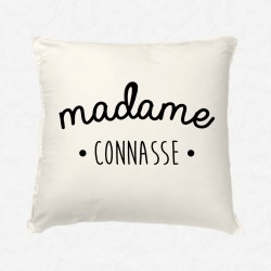 Coussin Madame Connasse
