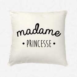 Coussin Madame Princesse