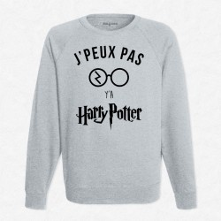 Sweat Gris J'peux pas y'a Harry Potter