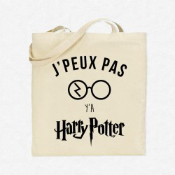 Tote Bag J'peux pas y'a Harry Potter