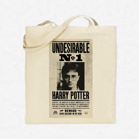 Tote Bag Undesirable N°1 Harry Potter