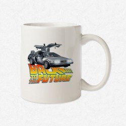 MUG Blanc Back to the future