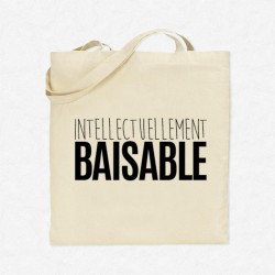 Tote Bag Intellectuellement baisable