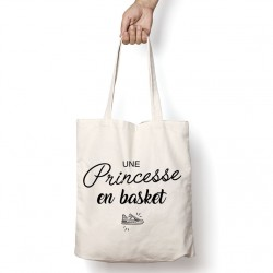 Tote Bag Une princesse en basket