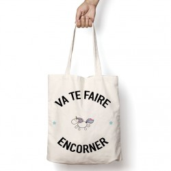 Tote Bag Va te faire encorner