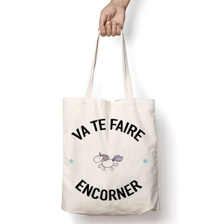 tote bag va te faire encorner mayooo t shirts et sweats cool pour gens cool. Black Bedroom Furniture Sets. Home Design Ideas