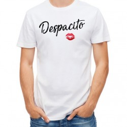 T-Shirt Homme blanc Despacito