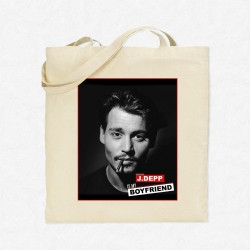 Tote Bag Johnny Depp is my boyfriend