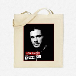 Tote Bag Jon Snow is my boyfriend
