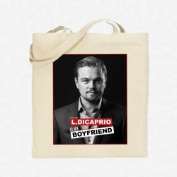 Tote Bag Leonardo DiCaprio is my boyfriend