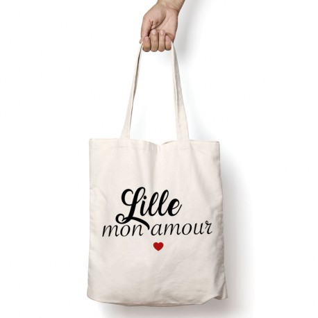 Tote Bag Lille mon amour