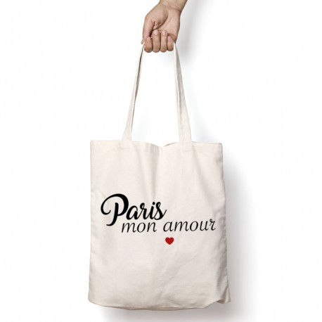 Tote Bag Paris mon amour