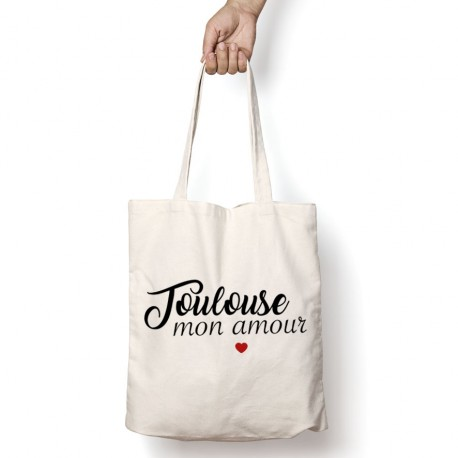 Tote Bag Toulouse mon amour